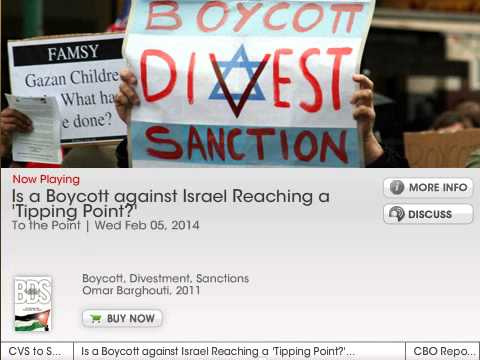 Prof. Gerald Steinberg, NPR, interview on BDS, February 5, 2014