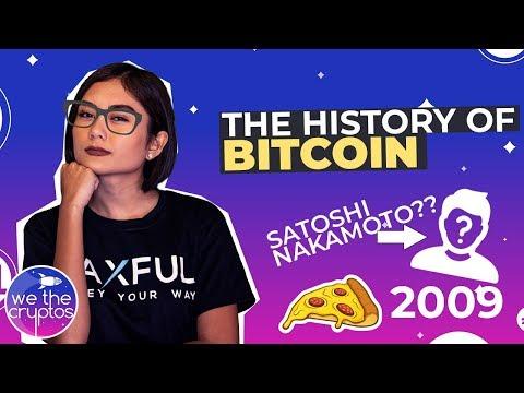 The History of Bitcoin 💲💲