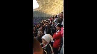 """Beşiktaş-Sivasspor 3-2 19.10.2013 Osmanlı stadyumu """"Ateşini Yolla Bana"""""""