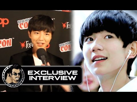 Wang Junkai (TFBoys) Interview for THE GREAT WALL (Exclusive) #NYCC2016