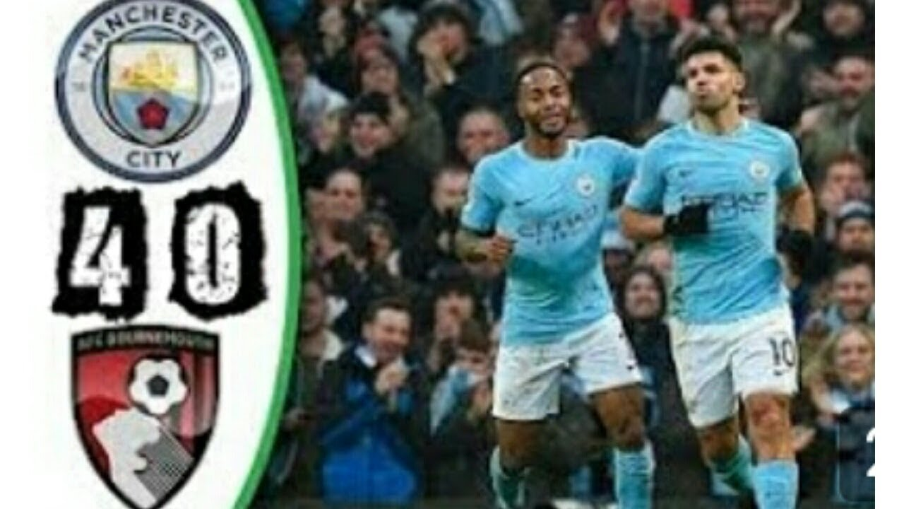 Download Manchester City vs Bournemouth 4-0 All Goals & Highlights 23/12/2017 HD