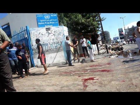 At least 10 killed in strike on UN school in Gaza