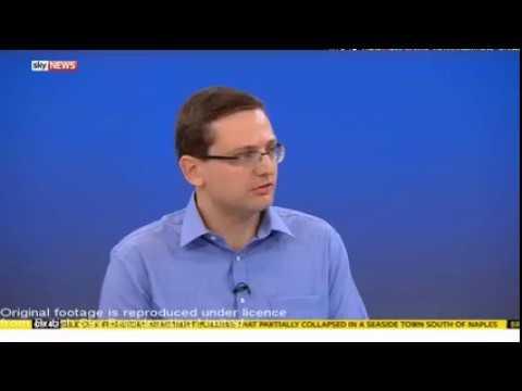 Professor Robert Young on Sky news   Quantum Base
