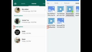 How to Download Or Copy Friend's Status In WhatsApp's New Status Update