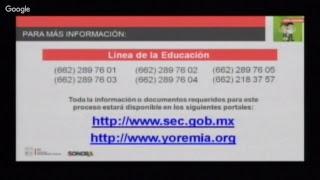 Rueda de Prensa Secretaría de Educación y Cultura