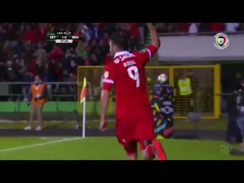 V. Setúbal 1-(1) Benfica (Liga 29ªJ): Golo de R. Jiménez