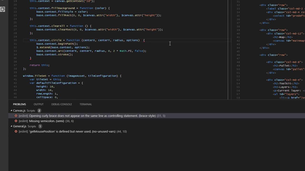 vs code eslint