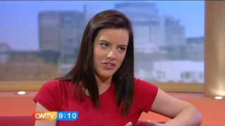 Michelle Ryan GMTV 09/04/2009 Doctor Who