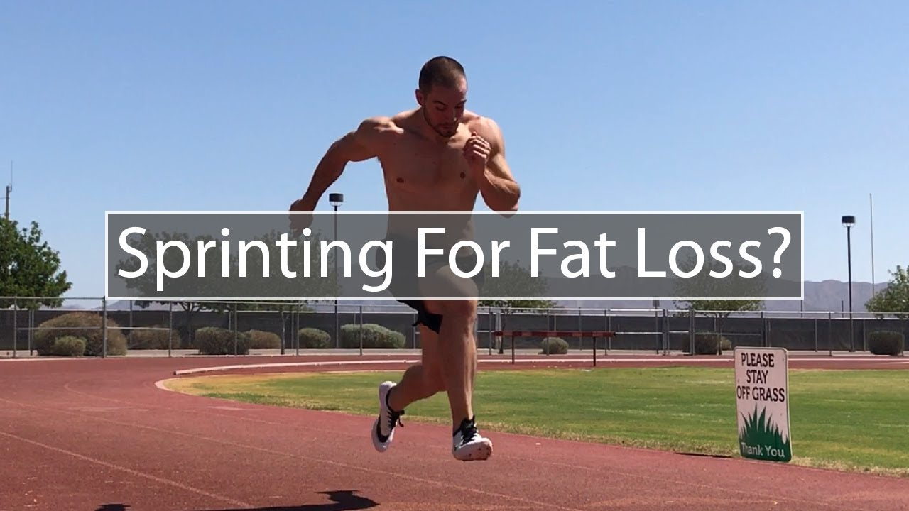 will sprint training burn fat
