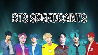BTS Social Media SPEEDPAINTS