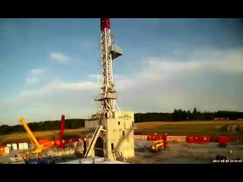 Assembly of EXALO Drilling Rig