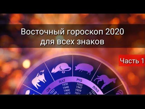 ВОСТОЧНЫЙ ГОРОСКОП 2020 ДЛЯ ВСЕХ ЗНАКОВ
