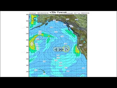 Stormsurf Video Surf and MJO/ENSO forecast for Sun (11/4/18)