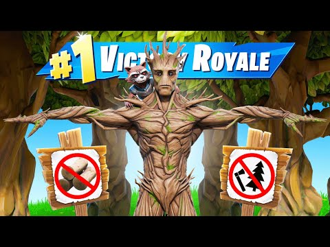 The *I AM GROOT* Challenge in Fortnite!