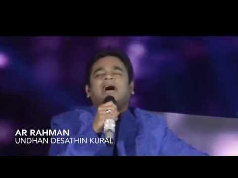 Rahman to NRI's | AR RAHMAN | Desam | ayal naadu unthan veedalla viduthiyada tamila!!