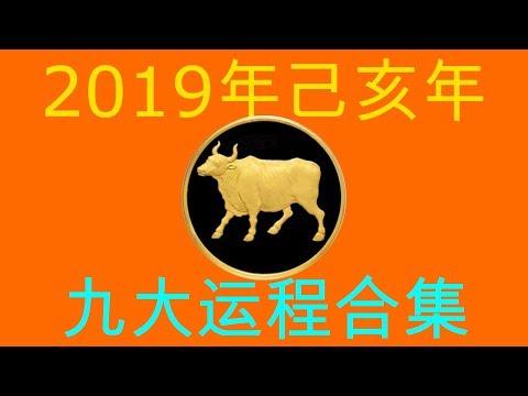 2019年己亥年九大运程大合集:肖牛者