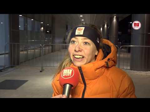 Esmee Visser kon felicitatie koning na gouden race niet verstaan