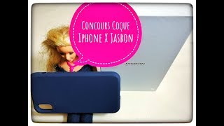 4 Coques Iphone X Jasbon #Concours
