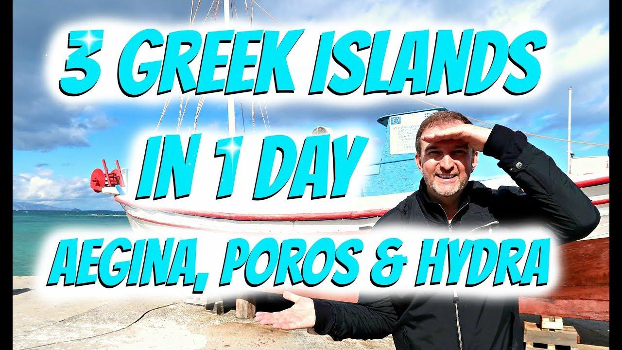 Aegina, Poros & Hydra | 3 Greek Islands in 1 Day Cruise