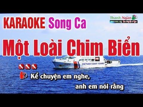 Một Loài Chim Biển Karaoke Song Ca - Nhạc Sống Thanh Ngân