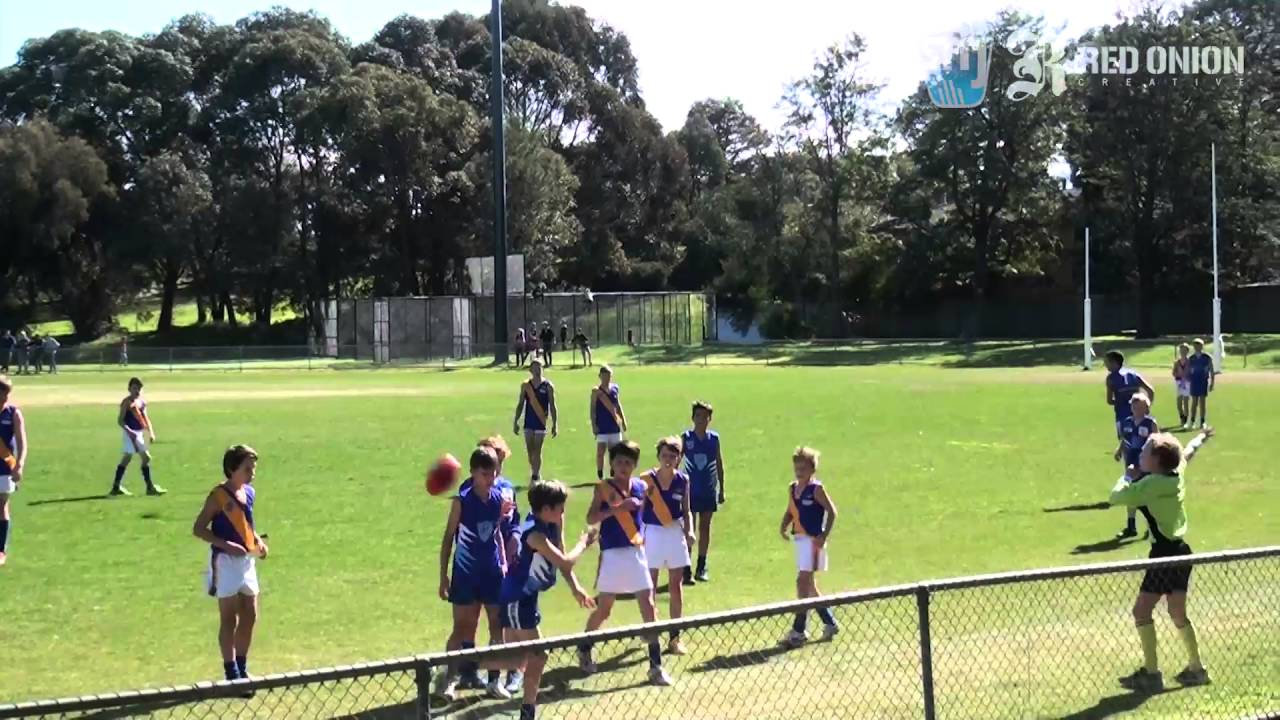 U12 West   Prahran Blue vs Beaumaris Sharks