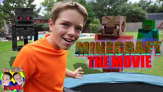 Mob's Escape MINECRAFT The MOVIE! Minecraft In Real Life Compilation!