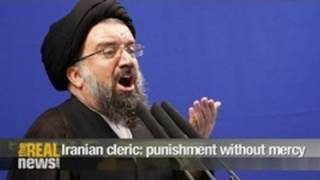 Iranian cleric calls for punishment without mercy