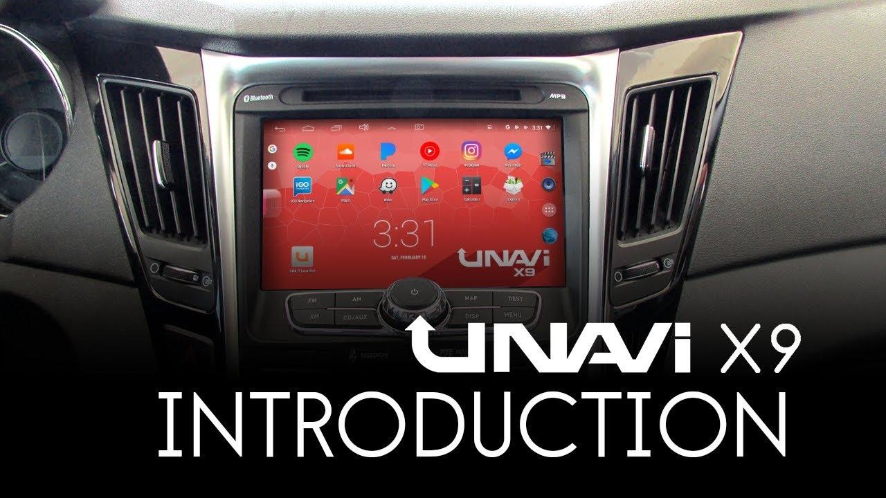 UNAVI X9 - Unavi   In-Dash GPS Navigation System   Dashcam   Driver