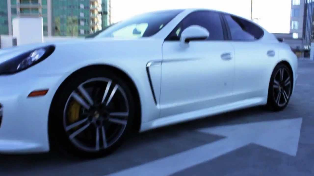 2013 porsche panamera turbo s wrapped in satin pearlescent white by dbx youtube