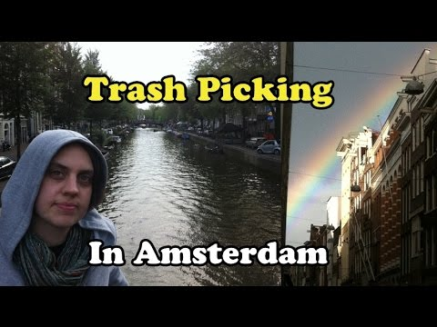 Scavenger Life Episode 217: Trash Picking on the Streets of Amsterdam