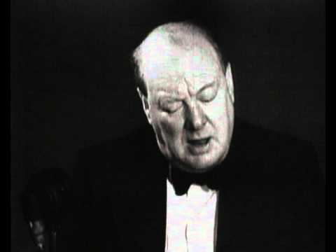 Winston Churchill speech on World War II