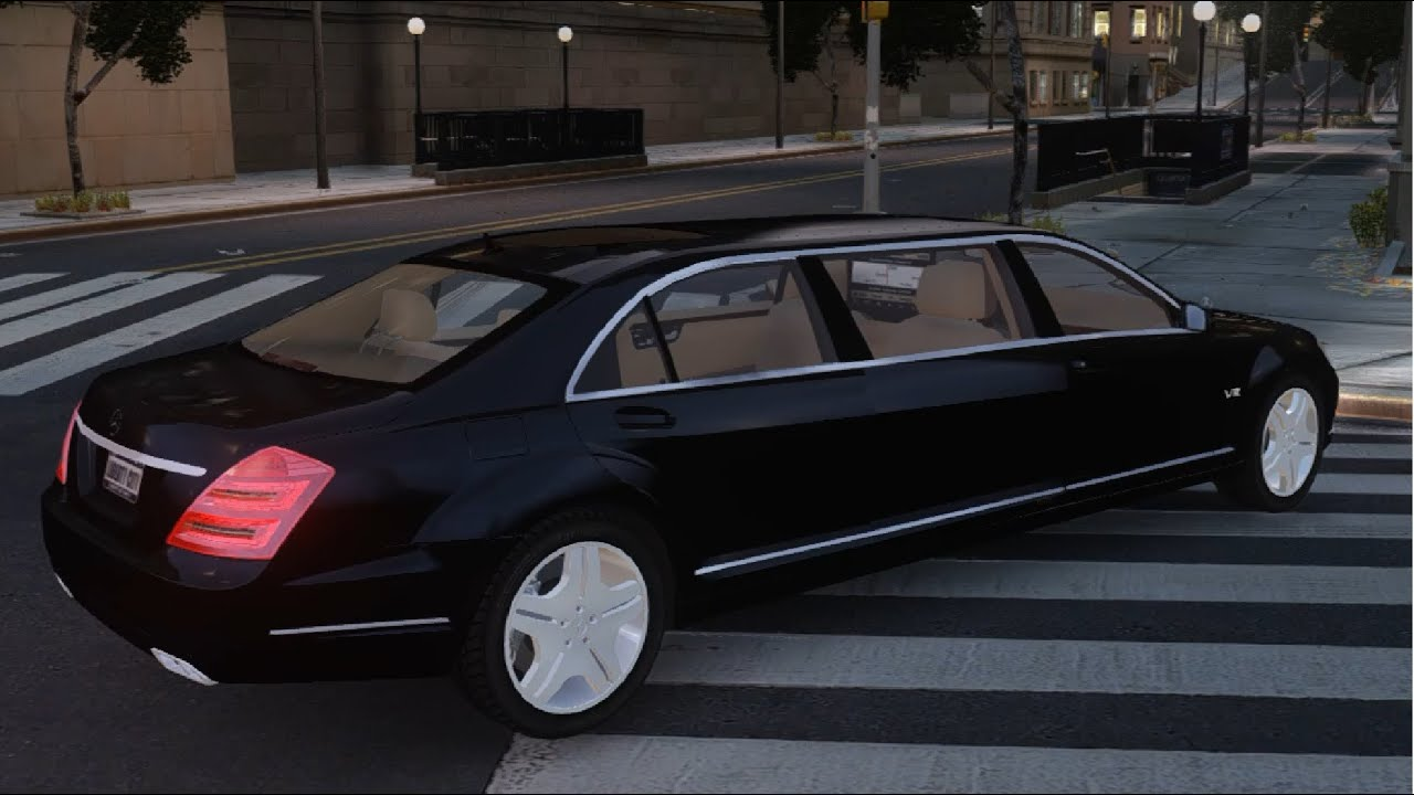 Gta iv 2011 mercedes benz s600 guard pullman enromovies for 2011 mercedes benz s600