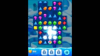 Jewel Pop Mania:Match 3 Puzzle Level 6 ( Jewel Ice Episode ) - Walkthrough ( No Booster ) screenshot 5