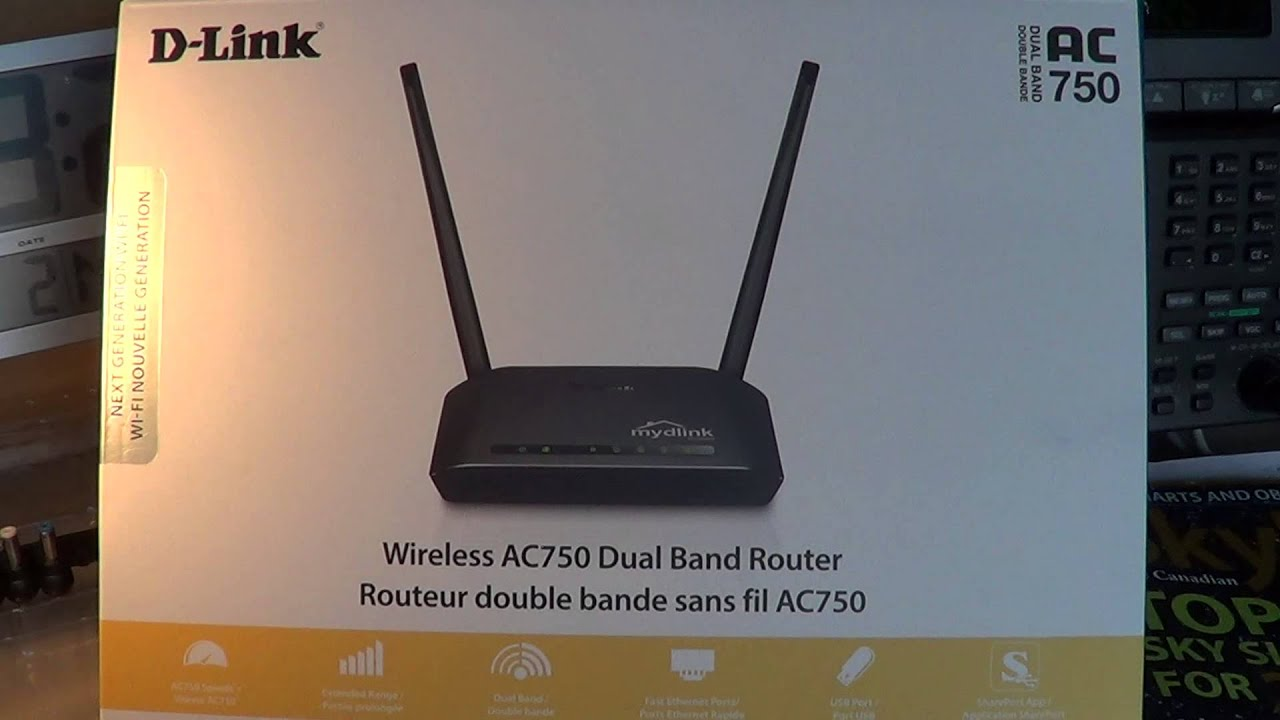 D Link Dual Band AC750 Router Review model DIR 816L - YouTube