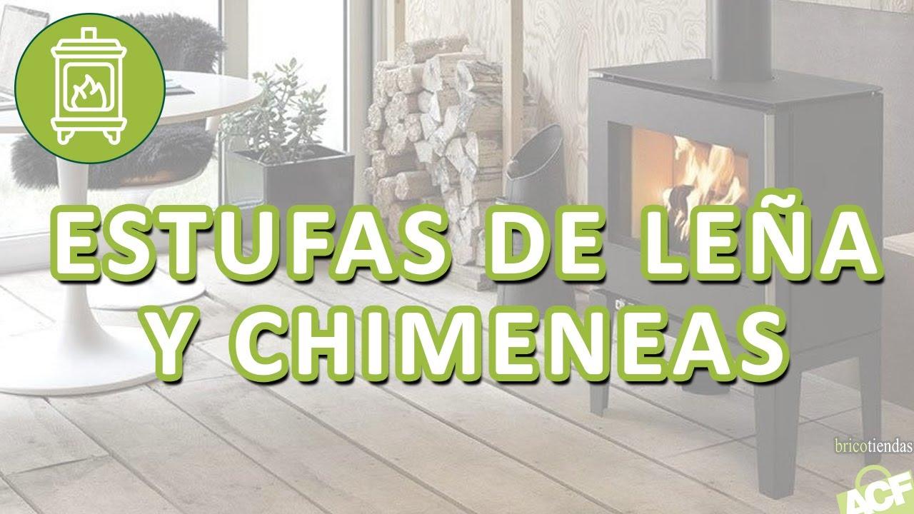 Bricotiendas estufas y chimeneas de le a youtube - Chimeneas de biocombustible ...