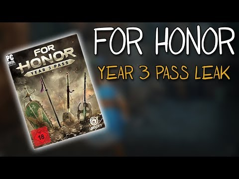 [For Honor] Year 3 Pass Leak Discussion |