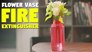 This flower vase will save many lives