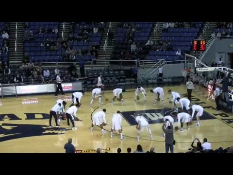 Nevada Basketball Warmup Routine vs. Fresno Pacific