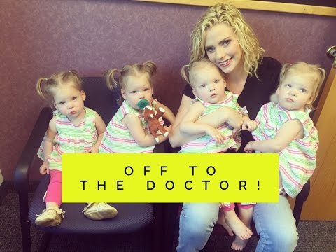 MOM TAKES QUADRUPLETS TO THE DOCTOR ALONE FOR AN EMERGENCY VISIT