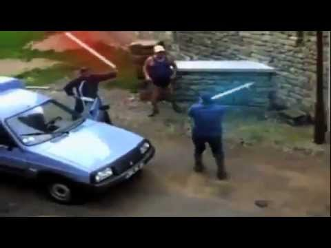 Funny   Old Man Lightsaber Fight Return Of The Geriatric 320 x 240)