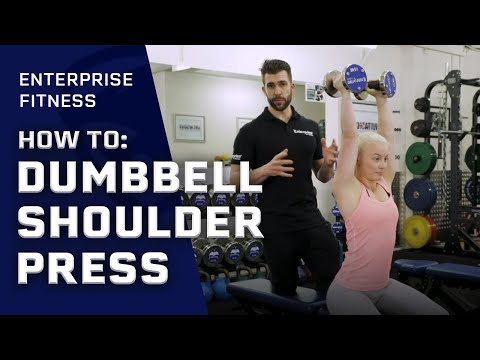 How to: Dumbbell Shoulder Press | Shoulder Exercise