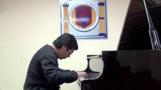 J. Haydn - Sonata Hob.XVI/52 III Finale:Presto - Aarón Martínez Hernández