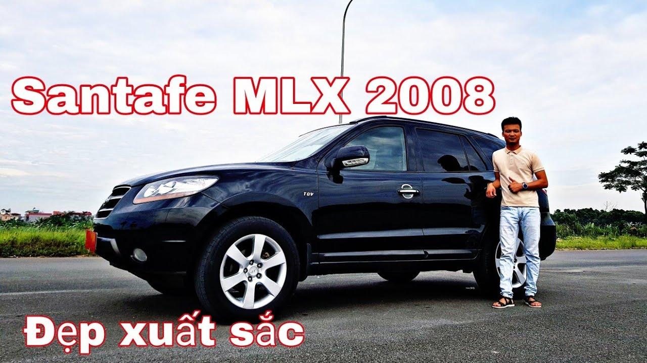 Hyundai Santafe MLX 2008, bản full, máy dầu - số tự động, xe đẹp xuất sắc, giá rẻ 460 | 0966680444