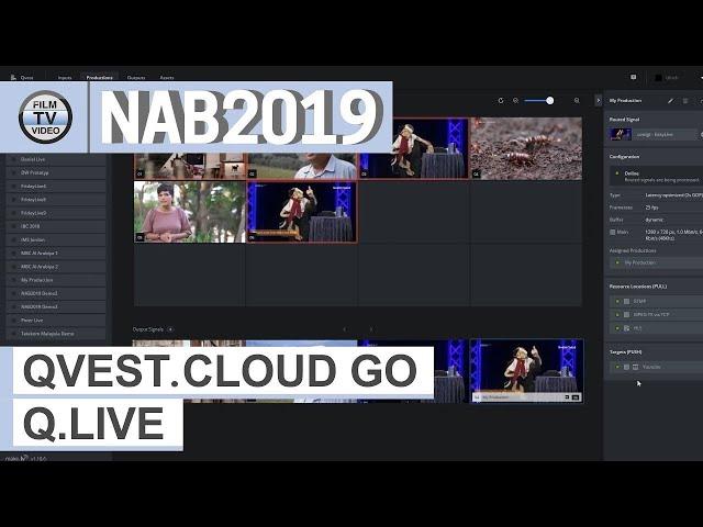 NAB2019: Qvest.Cloud Go und Q.Live