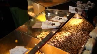 Free CaramelCrisp popcorn today at Garrett Popcorn Shops