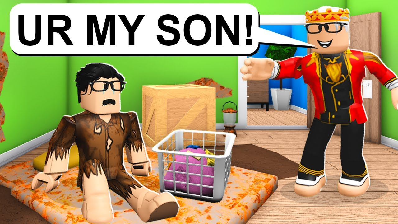 HATED Child Finds Out He's The Prince! (Roblox Bloxburg)