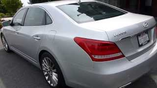 The 2014 Hyundai Equus Aiming at the Luxury Giants