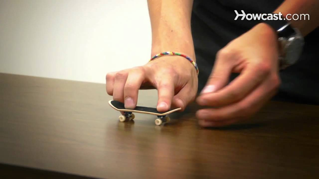 How To Do A Kickflip Fingerboarding Youtube
