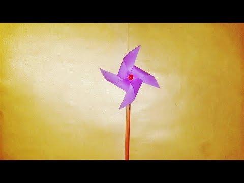 How To Make a Paper Wind Rose , Rüzgar Gülü Nasıl Yapılır , DIY , How to make origami , Origami