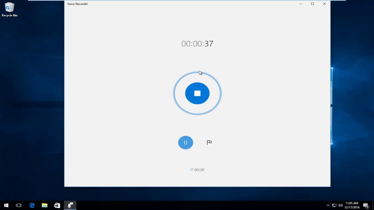 Windows 10 - How To Use Free Voice Recorder For Audio Recordings